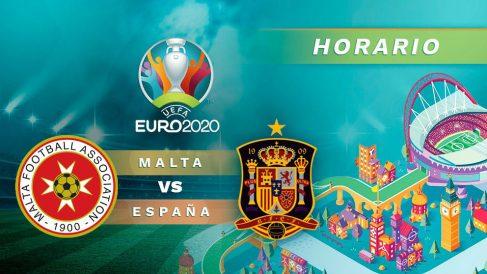Clasificación Eurocopa 2018: Malta – España| Horario del partido de fútbol de la clasificación para la Eurocopa 2020.