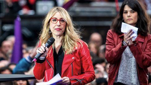 María Eugenia Rodríguez Palop, cabeza de lista de Podemos al Parlamento europeo. (Foto: Podemos)