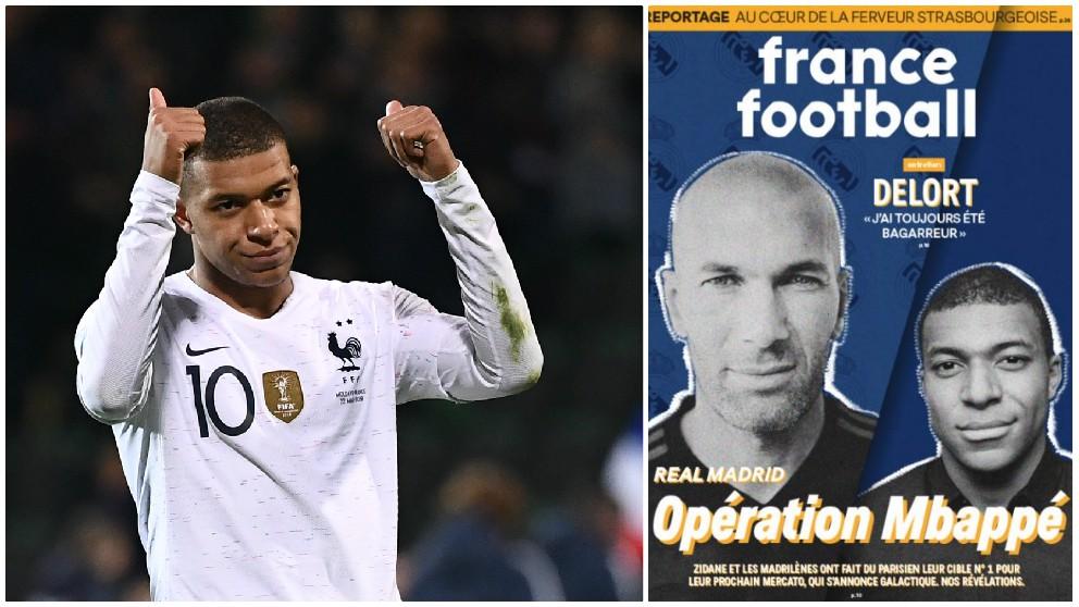 El Real Madrid hará una oferta de 280 millones por Mbappé, según 'France Football'. (AFP / France Football)