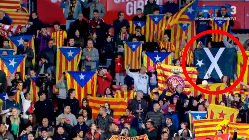 Esteladas y la Bandera Negra.
