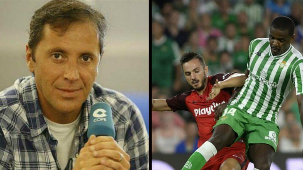 Paco González y William Carvalho