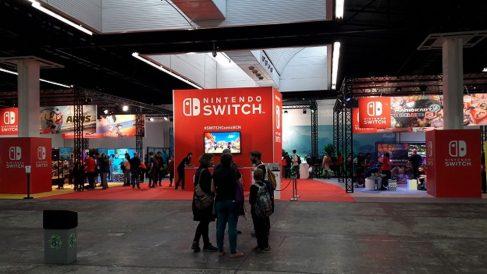 Una imagen tomada en el espacio Nintendo del Salón del Cómic de Barcelona de 2018.