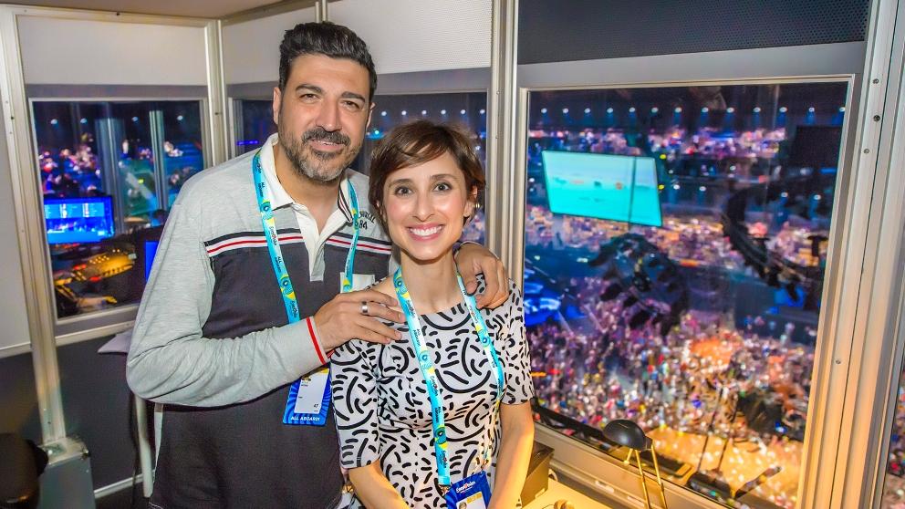 Tony Aguilar y Julia Varela estarán en 'Eurovisión 2019'