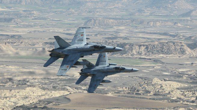 El Ejército del Aire se despliega en Andalucía y llega a Utrera, Bormujos, Tomares y Castilleja