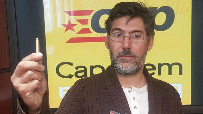 """Hallan balas en el buzón de un consejero de la CUP y éste acusa a la """"extrema derecha"""""""