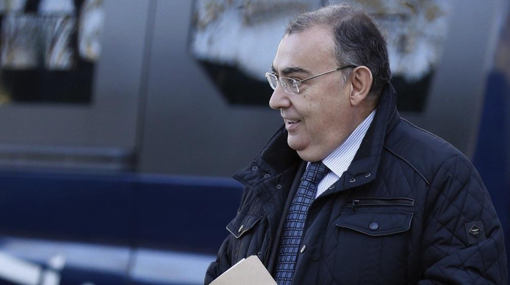 El ex jefe de la Unidad Central de Apoyo Operativo (UCAO) de la Policía Enrique García Castaño, El Gordo. (Foto. EFE)