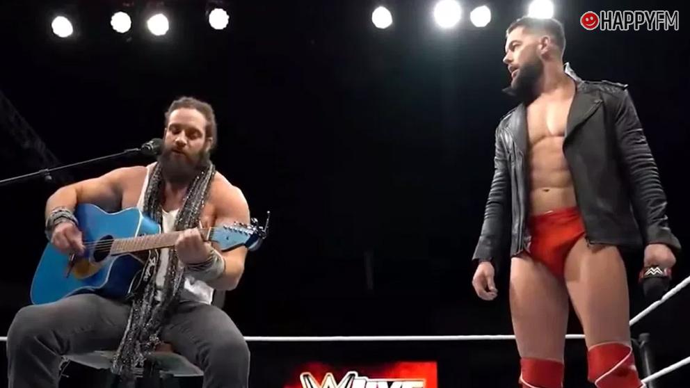 Elias y Finn en WWE