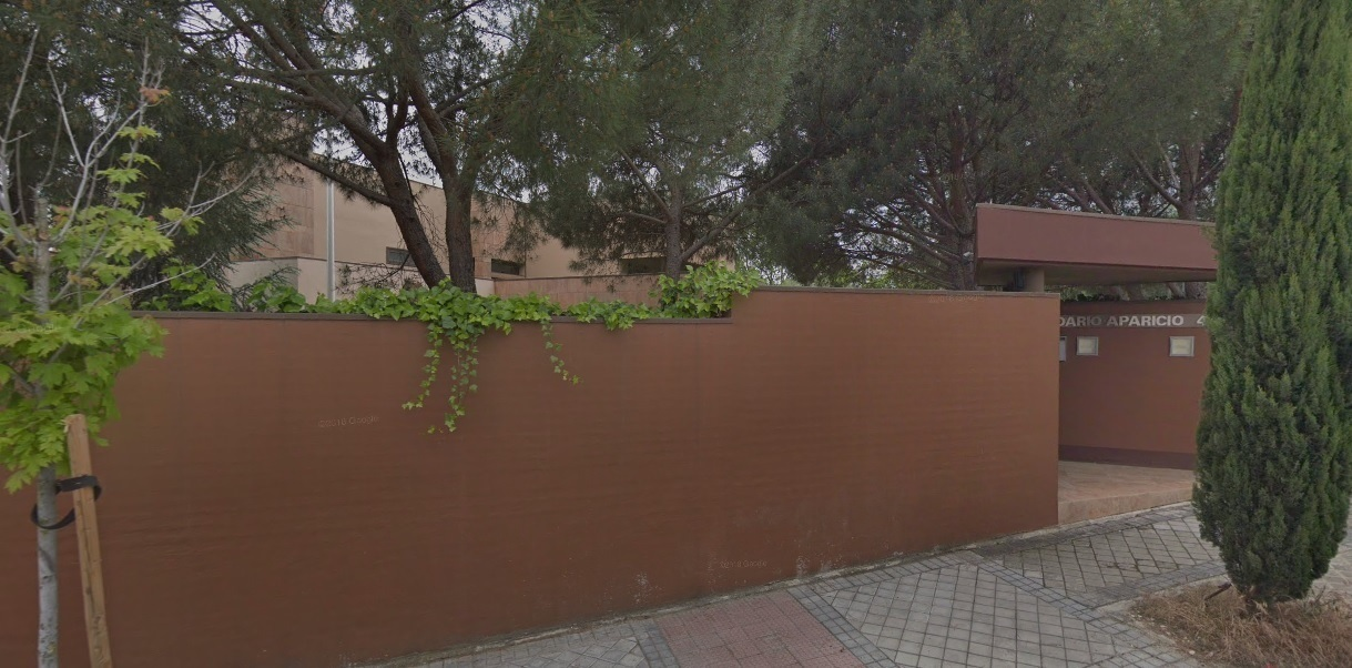 Embajada de Corea del Norte en Madrid. Foto. EP