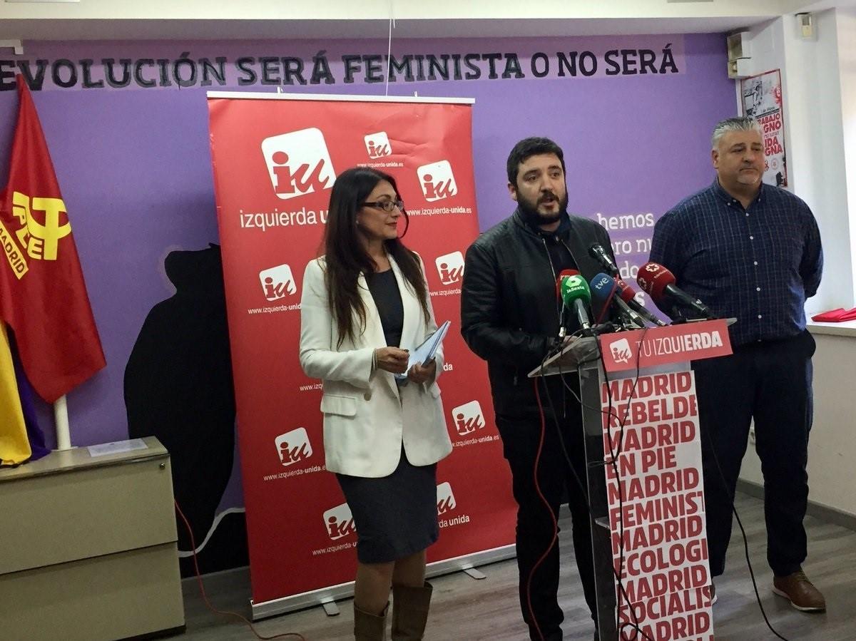 Sol Sánchez, Álvaro Aguilera y Javier Viondi. (Foto. EP)