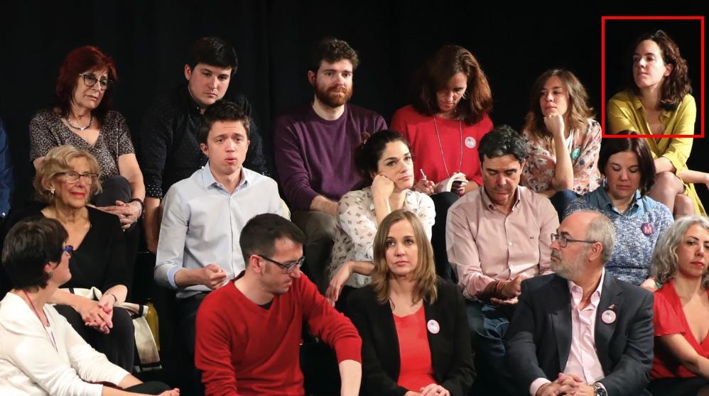 La candidata María Pastor Valdés junto a Íñigo Errejón. (Foto. Más Madrid)