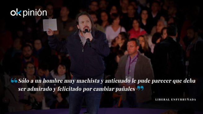 Notición: Pablo Iglesias ha cambiado pañales