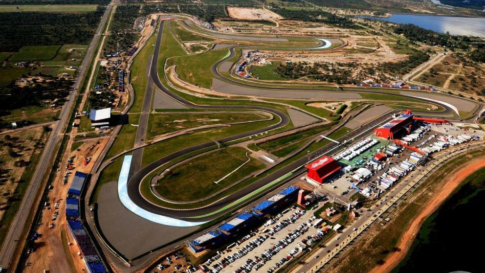 Circuito de Termas de Rio Hondo, donde se celebra el MotoGP Argentina 2019. (motogp.com)