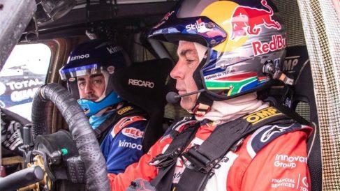 Alonso podría correr el próximo Dakar.