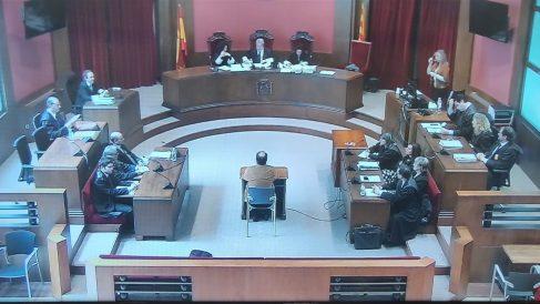El exprofesor de los Maristas en el juicio. Foto. EP