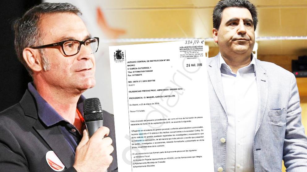 A la izquierda: José María Fraile Campos, ex alcalde de Parla, y a la derecha: el cabecilla de la trama Púnica, David Marjaliza.