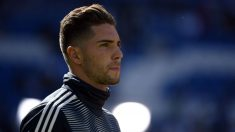 Luca Zidane, durante un partido. (AFP)