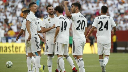 El Real Madrid volverá a disputar la Internacional Champions Cup este verano. (Getty)