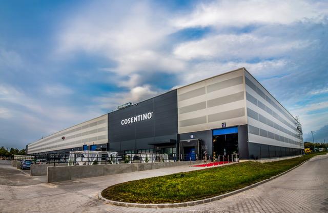 Centro de Cosentino en Polonia.