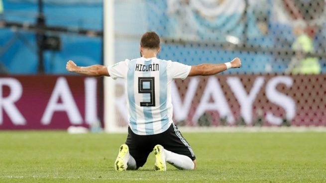 Gonzalo Higuaín anunció su retiro de la selección argentina