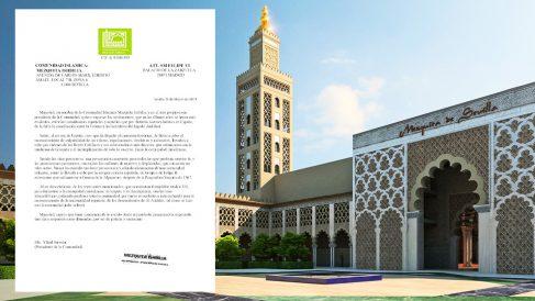 Carta enviada al Rey por la Comunidad Islámica Mezquita de Ishbilia, con sede en Sevilla.
