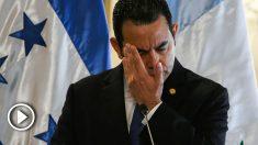 El presidente de Guatemala, Jimmy Morales. Foto: AFP