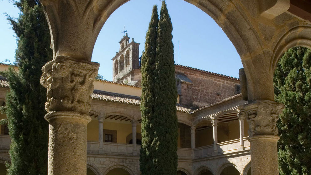 Monasterio de Yuste. Foto: Turismo de Extremadura