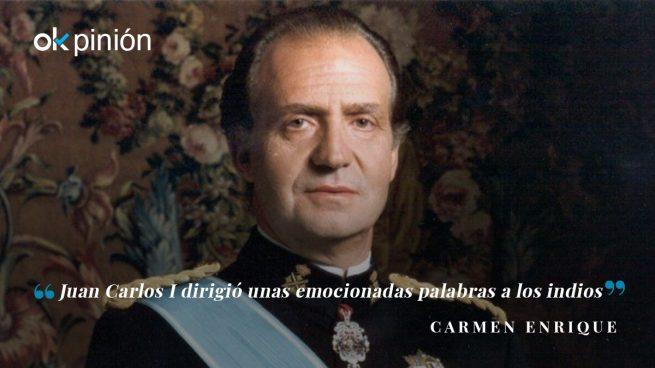 La monarquía española reconoció hace 30 años los abusos de los españoles con los indios mexicanos