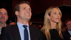 Pablo Casado y Cayetana Álvarez de Toledo, número uno por Barcelona.(Foto. PP)