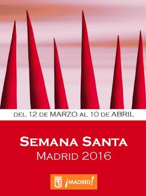 Programa de la Semana Santa de Madrid en 2016.