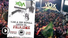 Arran quiere boicotear el acto de VOX en Barcelona.