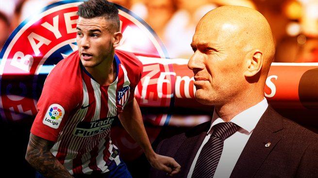 Zidane llegó tarde a por Lucas Hernández