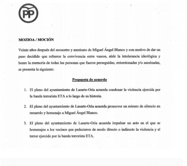 Sánchez mete en las listas del PSOE a un alcalde que se negó a condenar los asesinatos de ETA