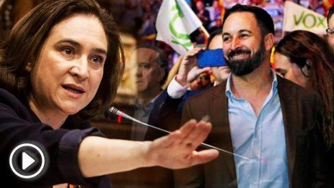 Ada Colau y Santiago Abascal