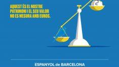 Comunicado del Espanyol cargando contra Piqué: «Nuestro patrimonio y su valor no se mide en euros». (@RCDEspanyol)