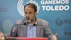 Javier Mateo, de Ganemos Toledo. Foto: EP