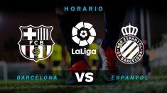 Barcelona – Espanyol: horario y dónde ver el partido de Liga Santander