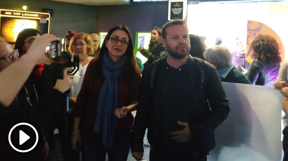 Los diputados Sol Sánchez y Raúl Camargo y la concejal Yolanda Rodríguez.