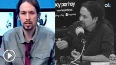 """Iglesias busca ahora el voto policial: de emocionarse por """"patearles"""" a pedir chalecos para todos"""