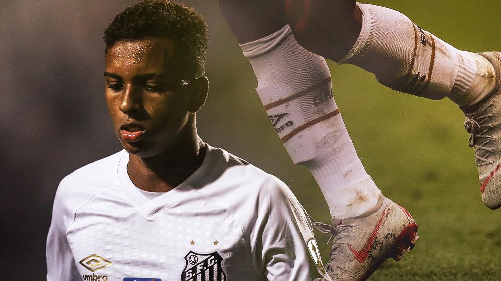 Rodrygo jugará en el Real Madrid la próxima temporada.