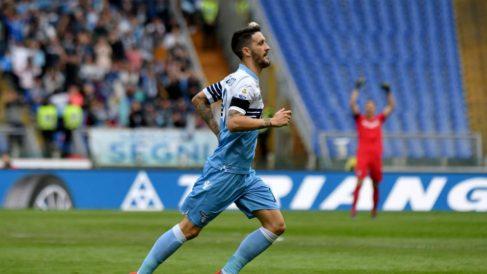 Luis Alberto con la Lazio (@OfficialSSLazio)