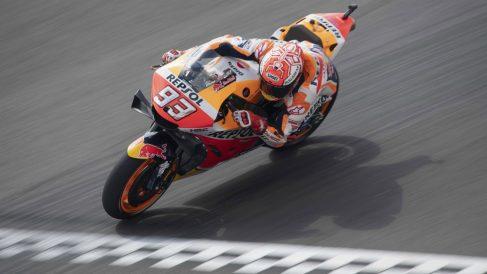 Márquez, en el MotoGP Argentina 2019. (AFP)
