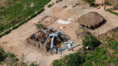 Una zona rural de Mozambique destrozada tras el paso del ciclón 'Idai'. Foto: Europa Press