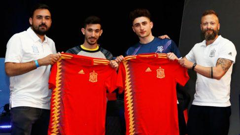 El canario I5I Zidane y el madrileño Xexu representarán a España en el torneo mundial de Londres. (Foto: RFEF)