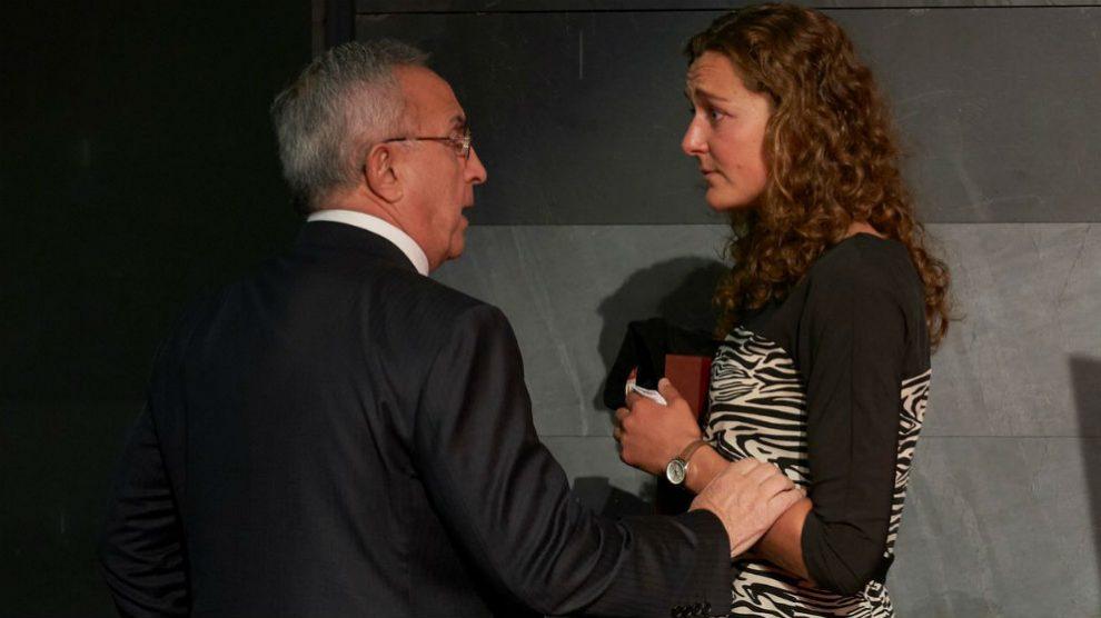 Anna Boada junto al presidente del COE, Alejandro Blanco. (Foto: COE)