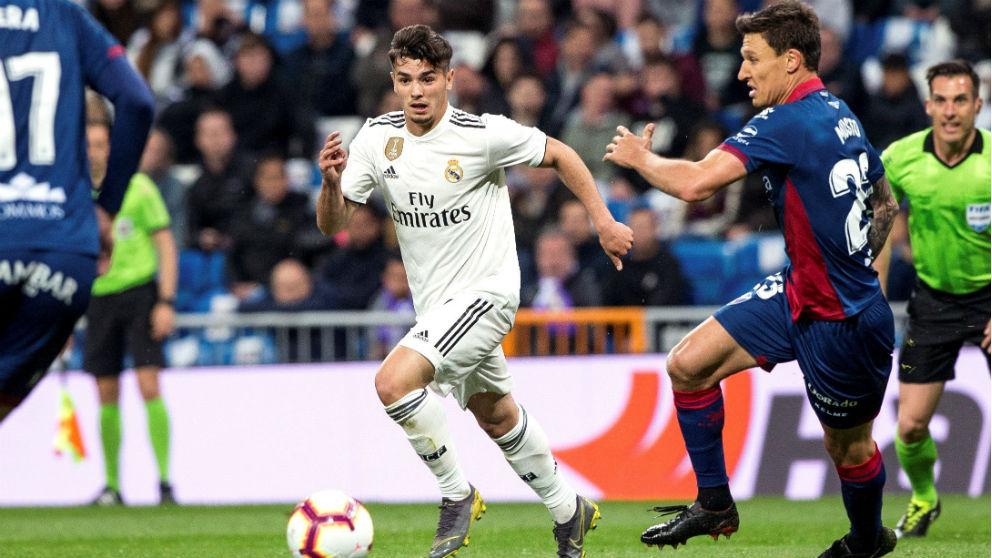 Brahim, en un partido ante el Huesca. (EFE)
