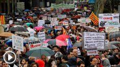 'La España vaciada' llena el centro de Madrid para reclamar medidas contra la despoblación rural. Foto Europapress