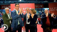 Pedro Sánchez acto PSC. Foto: EFE