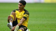 Achraf se lesiona y dice adiós a la temporada. (AFP)