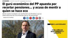 El diario El HuffPost se ha hecho eco del bulo lanzado por el presidente Pedro Sánchez en un mitin del PSC.
