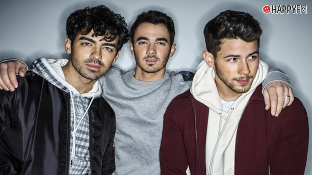 Joe, Kevin y Nick, componentes de Jonas Brothers